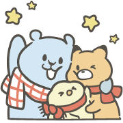 Free Pcone × Little Popcorn 16 Stickers LINE sticker for WhatsApp