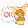 Free Rilakkuma's Family stickers 2 LINE sticker for WhatsApp