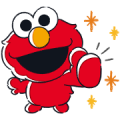 Free SESAME STREET Lovely stickers LINE sticker for WhatsApp