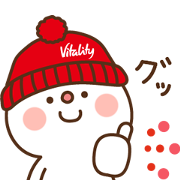 Free SUMITOMO LIFE Vitality × DAIHUKU LINE sticker for WhatsApp