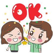 Free Sevy & Seva Animated LINE sticker for WhatsApp