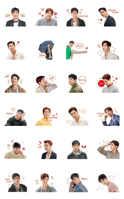 Download TVXQ! Special 3 Sticker LINE and use on WhatsApp