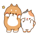 Free Tonton Friends: Pit-a-Pat Every Day LINE sticker for WhatsApp