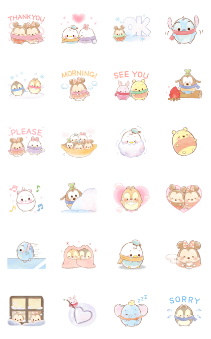 Download Ufufy: Winter Days Sticker LINE and use on WhatsApp