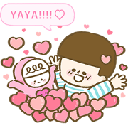 Free weiwei's Special Valentine's Day Set LINE sticker for WhatsApp