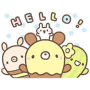 A Day in the Life of Bread Tree Sticker for LINE & WhatsApp | ZIP: GIF & PNG