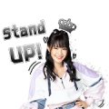 BNK48: Beginner Sticker for LINE & WhatsApp | ZIP: GIF & PNG