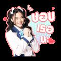 BNK48: Kimi no Koto ga Suki Dakara ก็เพราะฉันชอบเธอ Sticker for LINE & WhatsApp | ZIP: GIF & PNG