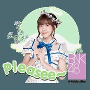BNK48 : Kimi wa Melody เธอคือ…เมโลดี้ Sticker for LINE & WhatsApp | ZIP: GIF & PNG
