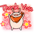 Buy123 TW × My Brother's Pigs Sticker for LINE & WhatsApp | ZIP: GIF & PNG