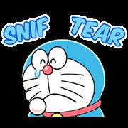 Doraemon Animated Onomatopoeia Sticker for LINE & WhatsApp | ZIP: GIF & PNG