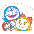 Doraemon & Dorami: Animated Stickers Sticker for LINE & WhatsApp | ZIP: GIF & PNG