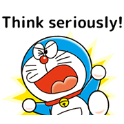 Doraemon: Moving Quotes Sticker for LINE & WhatsApp | ZIP: GIF & PNG