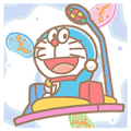 Doraemon Pop-Up Stickers Sticker for LINE & WhatsApp | ZIP: GIF & PNG