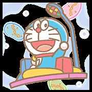 Doraemon Pop-Up Stickers Sticker for LINE & WhatsApp | ZIP: GIF & PNG