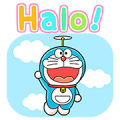 Doraemon in Indonesia Sticker for LINE & WhatsApp | ZIP: GIF & PNG