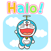 Doraemon in Indonesia Sticker for LINE & WhatsApp | ZIP: GIF & PNG