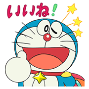 Doraemon the Movie 2015 Sticker for LINE & WhatsApp | ZIP: GIF & PNG