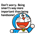 Doraemon's Animated Adages Sticker for LINE & WhatsApp | ZIP: GIF & PNG