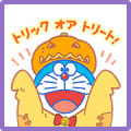 Doraemon's Autumn Stickers