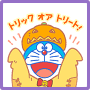 Doraemon's Autumn Stickers Sticker for LINE & WhatsApp | ZIP: GIF & PNG