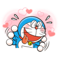 Doraemon's Many Emotions Sticker for LINE & WhatsApp | ZIP: GIF & PNG