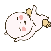 Dough Banjuk 2 Sticker for LINE & WhatsApp | ZIP: GIF & PNG