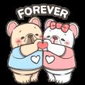 French Bulldog PIGU-Animated Sticker I Sticker for LINE & WhatsApp   ZIP: GIF & PNG