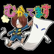GeGeGe no Kitaro Anime Sticker for LINE & WhatsApp | ZIP: GIF & PNG