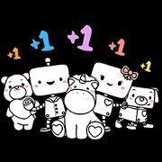 Hi! We Are PANDORA Friends Sticker for LINE & WhatsApp | ZIP: GIF & PNG