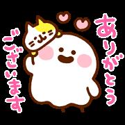 Ribon × Kanahei Springtime Fun Sticker for LINE & WhatsApp | ZIP: GIF & PNG