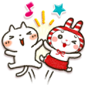 Shimamura × Honobono Sticker for LINE & WhatsApp | ZIP: GIF & PNG