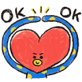 UNIVERSTAR BT21: Cool Kids Sticker for LINE & WhatsApp | ZIP: GIF & PNG