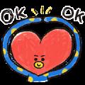 UNIVERSTAR BT21: Cool Kids Sticker for LINE & WhatsApp   ZIP: GIF & PNG