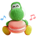 Yarn Yoshi & Poochy Stickers Sticker for LINE & WhatsApp | ZIP: GIF & PNG