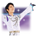 Yuzuru Hanyu 3.11 SMILE sticker