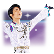 Yuzuru Hanyu 3.11SMILE sticker Sticker for LINE & WhatsApp | ZIP: GIF & PNG