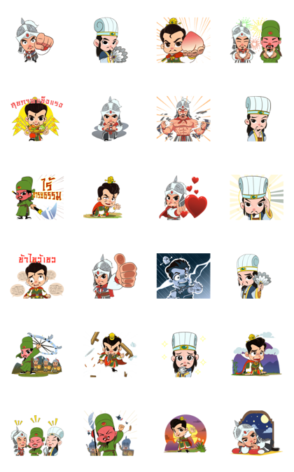 3KOK : Young Warrior Line Sticker GIF & PNG Pack: Animated & Transparent No Background | WhatsApp Sticker