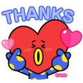 BT21 Custom Stickers Sticker for LINE & WhatsApp | ZIP: GIF & PNG