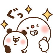DAIFUKU × DoCLASSE Sticker for LINE & WhatsApp | ZIP: GIF & PNG