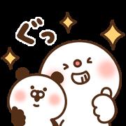 DAIFUKU × DoCLASSE Sticker for LINE & WhatsApp | ZIP: GIF & PNG