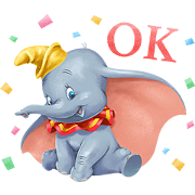 Dumbo (Special Event) Sticker for LINE & WhatsApp | ZIP: GIF & PNG