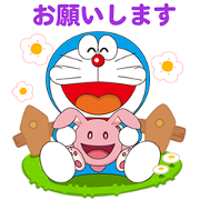 LINE PokoPoko × Doraemon the Movie 2019 Sticker for LINE & WhatsApp | ZIP: GIF & PNG