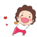 Oh! My Madame Sticker for LINE & WhatsApp | ZIP: GIF & PNG