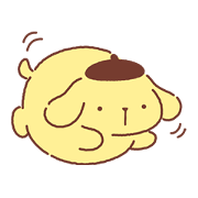Pompompurin's Chowtime Sticker for LINE & WhatsApp | ZIP: GIF & PNG