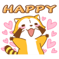 Rascal Quick Replies Sticker for LINE & WhatsApp | ZIP: GIF & PNG