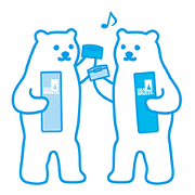 SEA BREEZE Polar Bear Stickers Sticker for LINE & WhatsApp | ZIP: GIF & PNG