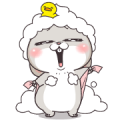 Very Miss Rabbit: Daily Sticker for LINE & WhatsApp | ZIP: GIF & PNG