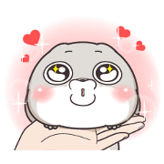 Very Miss Rabbit Petite Stickers Sticker for LINE & WhatsApp | ZIP: GIF & PNG