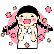 What a Girl Wants Sticker for LINE & WhatsApp | ZIP: GIF & PNG
